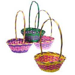 11″ Bamboo Easter Basket
