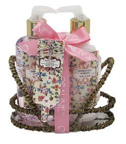 Hydrangea & Peony Bath Gift Set – Handwash Hand Lotion