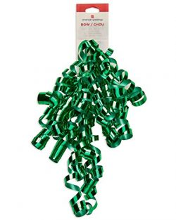 American Greetings Green Curly Gift Bow,