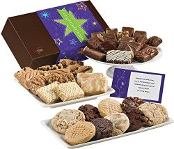 Fairytale Brownies Congratulations Ultimate Bar, Sprite & Cookie Comb Gourmet Food Gift Bask ...