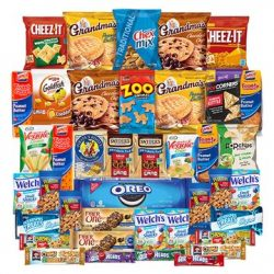 College Care Package – Chips, Cookies, Candy Assortment Bundle Gift Pack and Variety Box 4 ...