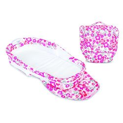 Baby Delight Snuggle Nest Harmony Portable Infant Sleeper Baby Bed – Garden Dreams, Travel ...