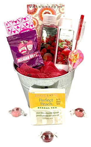 Thinking Of You Gift Basket Let Her Know Care With This Just Peachy