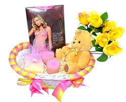 Spring Love Gift Basket – Valentine's Day Gift Basket – Gifts For Her – Sexy L ...