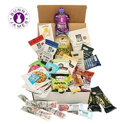 High Protein Healthy Snacks Fitness Box: Mix Of Natural, Organic, Non-GMO, Protein Bars, Cookies ...