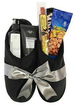 Mens Spa Gift – Mens Gift Baskets – Manly Mans Spa and Snack Gift Baskets – Pe ...