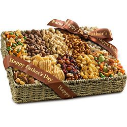 Golden State Fruit Father's Day Best Savory Snacks Gift Basket