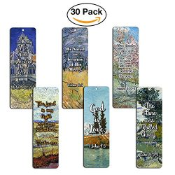 Bible Bookmarks Cards – God is Love (30 Pack) – Great Inspirational Gifts for Christ ...