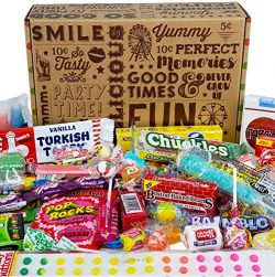 VINTAGE CANDY CO. HAPPY BIRTHDAY NOSTALGIA CANDY CARE PACKAGE- Retro Candies Assortment Variety  ...