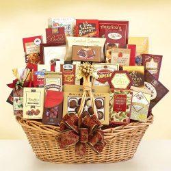 Autumn Vibrance! Ultimate Fall Thanksgiving Gourmet Gift Basket
