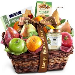 Father's Day Classic Gourmet Fruit Basket Gift