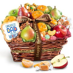 Golden State Fruit Father's Day Fruit & Snacks Gift Basket