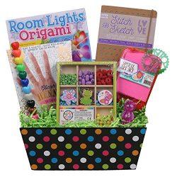 Beyond Bookmarks Krafty Kid Gift Basket