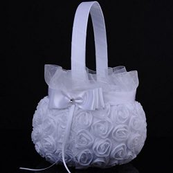 Icocol New Design Style Lace Flower Romantic Bowknot Silk Cloth Wedding Ceremony Party Rose Flow ...