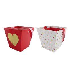 Valentine's Day Basket Heart Print (2 count)