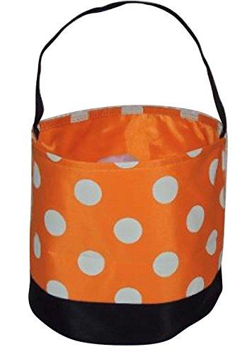 Jolly Jon Halloween Candy Bags Bucket Basket – Trick Or Treat Goody Bag – Reusable D ...