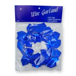 Wired Hanukkah Decoration – Blue Dreidel Cut Out Decoration for Home and Gift Baskets. Sol ...