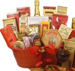 Delight Expressions Christmas Cheer Holiday Christmas Gourmet Food Gift Basket