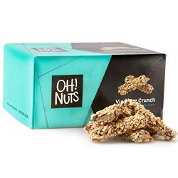Toffee Candy Brittle Butter Cashew Nuts, Gourmet Dark Chocolate Viennese Crunch Log, Party Gift  ...