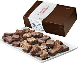Fairytale Brownies Anniversary Magic Morsel 36 Gourmet Food Gift Basket Chocolate Box – 1. ...