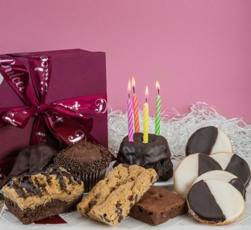Dulcet Gift Baskets Birthday Chocolate Celebration Gourmet Unique Elegant Box For Men Women
