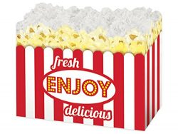 All Occasion Gift Basket Box – 6 Count – Large – Fresh Popcorn