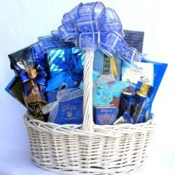 Happy Hanukkah | Gourmet Gift Basket to Celebrate Hanukkah by Organic Stores