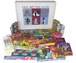 Woodstock Candy Kids Get Well Soon Candy Gift Box Assortment Present for Children – Boys a ...