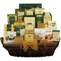 GreatArrivals Gallant Affair Gourmet Thank You Gift Basket, 10 Pound