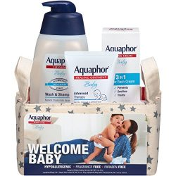 Aquaphor Baby Welcome Gift Set Value Size – Pediatrician Recommended Brand