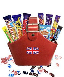 Sweet British Basket by The Yummy Palette   British Candy & Chocolate Gifts Cadbury Retro Ca ...