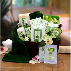 Gift Basket Drop Shipping Holiday Seasonal Personal Care Home Décor Cucumber & Melon Calming ...