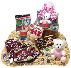 Mothers Day Mommy & Me Krusteaz Cookie Baking & Chocolates Gourmet Gift Basket