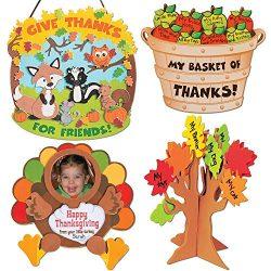 Thanksgiving & Autumn Craft Kits | Thankful for Friends Sign Kit, Bushel of Thanks Apple Bas ...