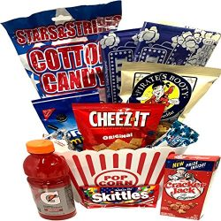 Patriotic Gourmet Snack Gifts – American Independence Gift Basket – July 4th Care Pa ...