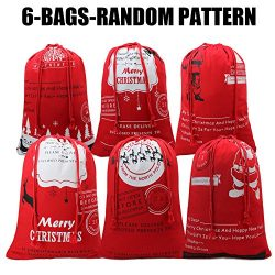 Christmas Bag Santa Sack Canvas Bag For Gifts Santa Sack Special Delivery Extra Large Size 27.5& ...