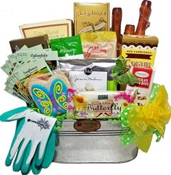 Delight Expressions Garden Tools and Goods Tote – A Mother's Day Gift Basket Idea!