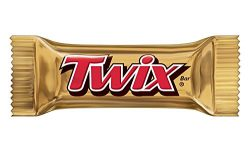 Twix Caramel, Classic Chocolate Candy Bars (20 lbs) Bulk of Minis Snacks in a Box. Perfect for a ...
