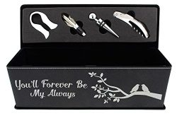 Anniversary Gifts for Her You'll Forever Be My Always Wedding Gifts for Husband and Wife G ...