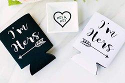 Black and White Lesbian Wedding Engagement Gift Box Set Ring Dish