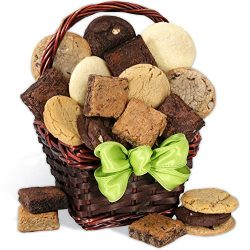 Holiday Baked Goods Gift Basket – Gourmet Food Gifts Prime Delivery – Bakery Gift, K ...