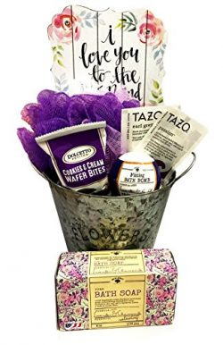 Complete Birthday, Thinking of You, I Love You, Gift Basket Box for Her-Women, Mom, Aunt, Sister ...