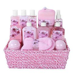 """Large Luxury """"Complete Spa at Home Experience"""" Gift Basket for Women by Draizee –#1 Best Gift fo ..."""