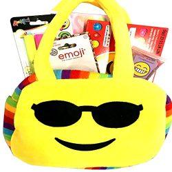 Gifts For Teen Girl – Tween Girl – Emoji Purse #2 Gift Basket with Emoji Purse, Lip  ...
