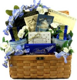 Thoughts and Prayer Gourmet Christian Gift Basket