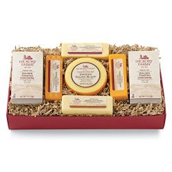 Hickory Farms 7 Piece Cheese and Cracker Lovers Sampler Gift Box
