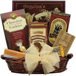 GreatArrivals Gourmet Chocolate Gift Basket, Chocolate Delights, 4 Pound