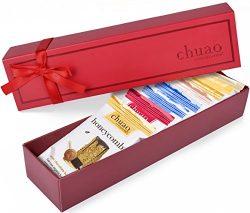 Chocolate Gift Set – Chuao Chocolatier Dark Mini Chocolate Bars 8 Piece Gift Set (.39 oz m ...