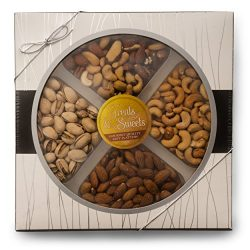 Nuts Assorted/Fancy Salted Mixed Nuts, Large Deluxe Gourmet Kosher Nut Platter, Salted Pistachio ...