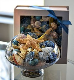 Manu Home Ocean Breeze Potpourri Box~ Perfect Gift for Anyone! Great Idea for Weddings, Birthday ...
